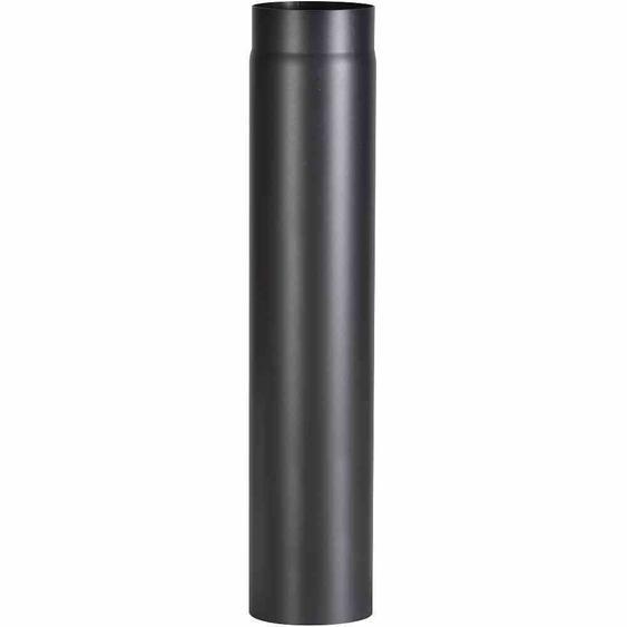 FIREFIX R150/7 Ofenrohr 750 mm, Ø 150 mm, Wandstärke 2 mm, schwarz (1 Stück)