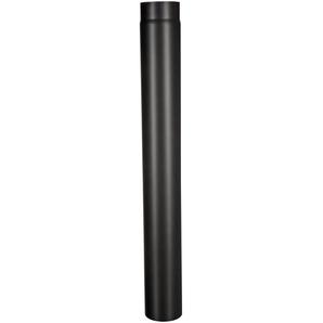 Firefix Rauchrohr schwarz ø 120 mm, 1000 mm