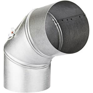 Firefix Rauchrohrbogen feueraluminiert ø 120 mm