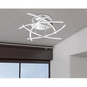 Fischer & Honsel LED-Deckenleuchte Cross 5 x 4 W Chrom EEK: A++ - A