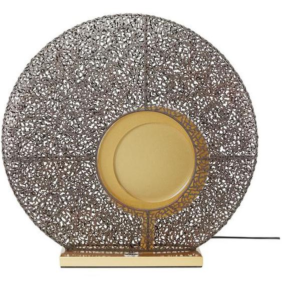 Fischer-Honsel LED-Tischleuchte, 1-flammig, rost -/ goldfarben ¦ gold