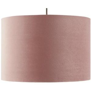 Fischer-Honsel Pendelleuchte, 1-flammig, rose´ Samt `klein` ¦ rosa/pink Ø: 30