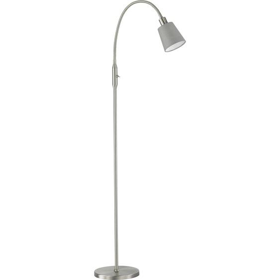 FISCHER & HONSEL Stehlampe Note, E14 1 flg., Höhe: 162 cm silberfarben Standleuchten Stehleuchten Lampen Leuchten