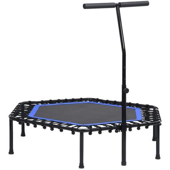 Fitness Trampolin mit Griff 122 cm