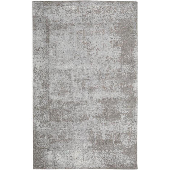 Flachgewebeteppich Frencie Grau 160x235 cm