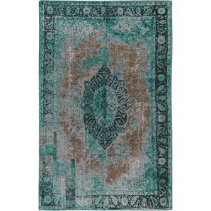 Flachgewebeteppich Tosca Türkis 115x180 cm