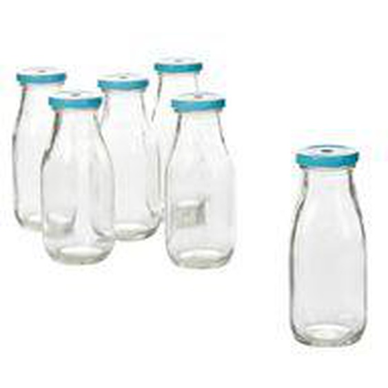 Flaschen-Set, 6-tlg.,  living