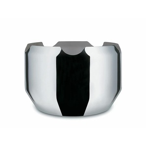Flaschenkühler Noè Alessi Silber, Designer Giulio Iacchetti, 20 cm