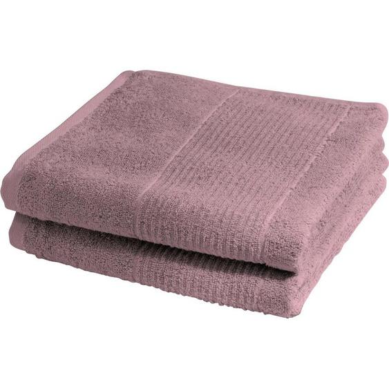 fleuresse Handtücher »2828« (2-St), hochwertig und unifarben