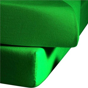 Fleuresse Spannbettlaken »Comfort«, 180/200 cm, grün