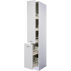 Flex-Well Classic Apotheker-Hochschrank Wito 30 cm Weiß