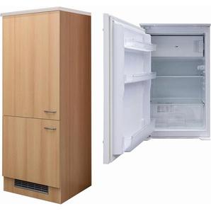 Flex-Well Exclusiv Kühlschrank-Umbau Nano mit Kühlschrank PKM KS 120.4A+ EB