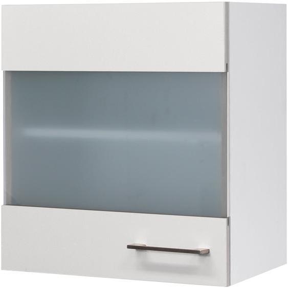 Flex-Well Glashängeschrank Kopenhagen, Breite 50 cm B/H/T: x 54 32 cm, 1 weiß Hängeschränke Küchenschränke Küchenmöbel