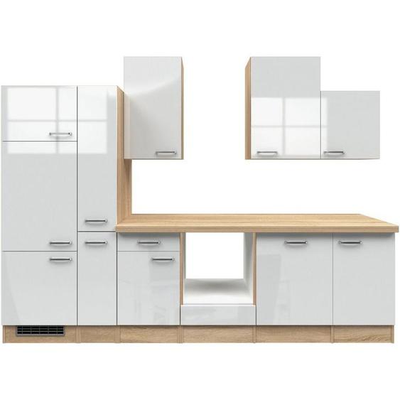 Flex-Well Küchenzeile »Florenz«, ohne E-Geräte, Breite 310 cm