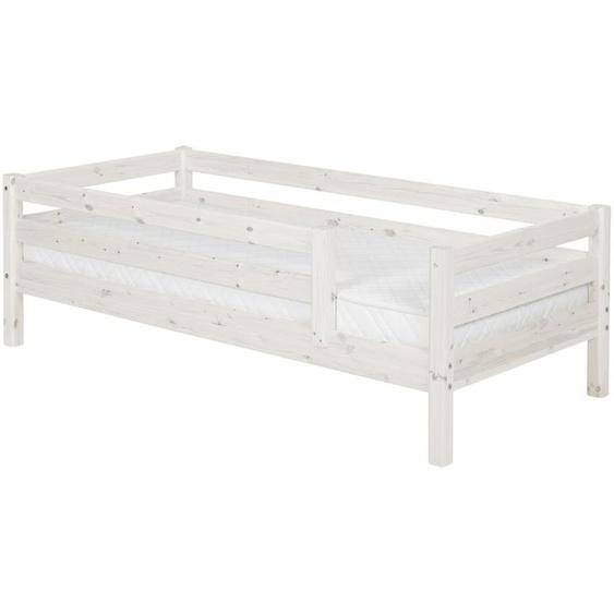 FLEXA Bett 90 x 200 Holz Flexa Classic ¦ weiß ¦ Maße (cm): B: 100 H: 67