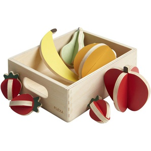 FLEXA Obst  The Shop ¦ mehrfarbig ¦ Birke massiv , Oberfläche lackiert mit umweltfreundlichen wasserbasierten Lacken Baby  Spielen  Lernspielzeug » Höffner