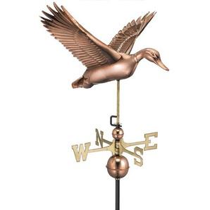 Fliegende Ente Wetterfahne Broomsedge