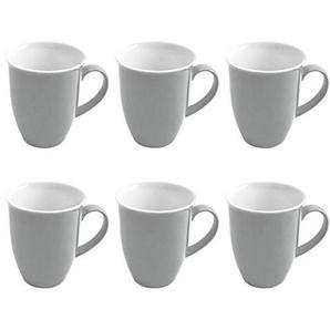 Flirt By R&B Geschirr-Serie Doppio grau Material 6er Set Kaffeebecher 320 ml Doppio grau
