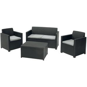 FLORABEST Loungeset mit Tisch 4tlg. (Packstück 1/2)