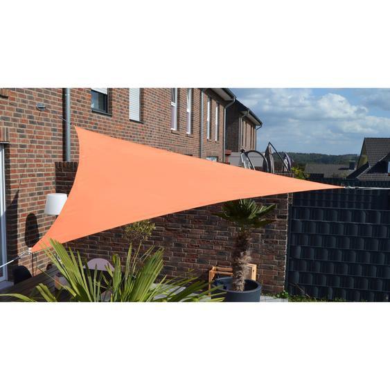 Floracord Dreiecksonnensegel Terracotta 360 cm mit Regenschutz