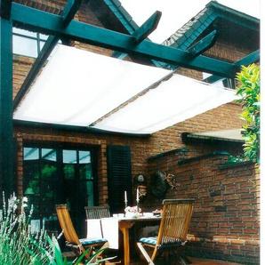 Floracord Seilspannsonnensegel Innenbeschattung, BxT: 270x140 cm, 1 Bahn B/T: 270 cm x 140 weiß Sonnensegel Sonnenschirme -segel Gartenmöbel Gartendeko