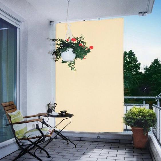 Floracord Senkrechtmarkise BxH: 140x230 cm, elfenbein