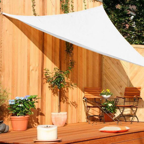 Floracord Sonnensegel »Dreieck«, B: 300 cm, cremeweiß