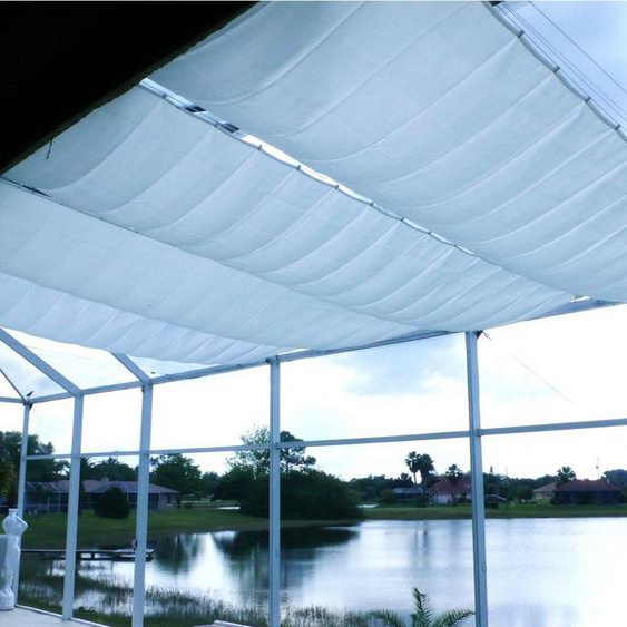 FLORACORD Sonnensegel »Innenbeschattung«, mit Seilspann-Set, BxL: 420x140 cm, 1 Bahn