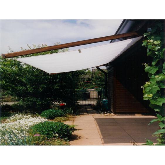 Floracord Sonnensegelbausatz Universal Silbergrau 330 cm x 200 cm