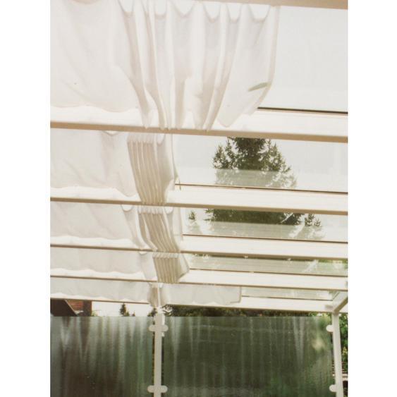 Floracord Vierecksonnensegel Weiß 330 cm x 91 cm