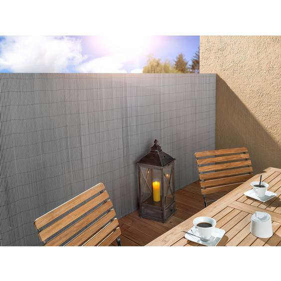 Floraworld Kunststoff-Matte premium Silbergrau