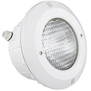 Fluidra 07838–Projektor pisc. Beton Standard S/Kabel mit Blende ABS weiß