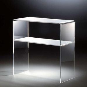 Flur Konsolentisch aus Acrylglas Wei�