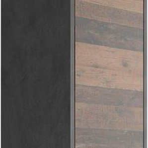 FMD Hochschrank »Madoc« Badhochschrank mit 2 Türen und 1 Schubkasten