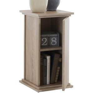 FMD Möbel 641-001 Dekosäule Holz, eiche, 30 x 30 x 58 cm