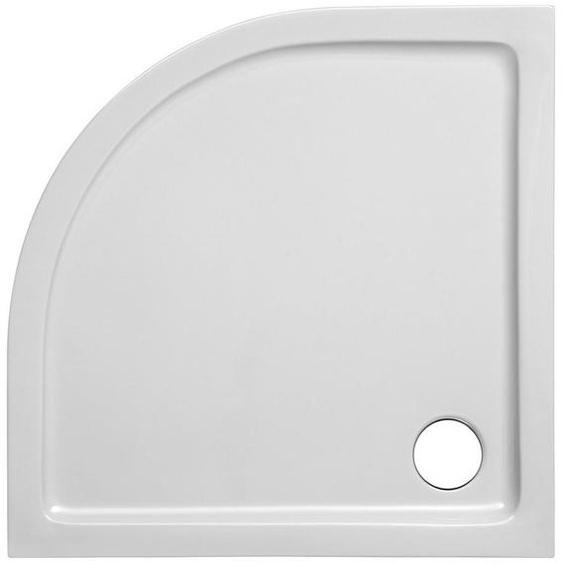 FOND Duschwanne »Set Viertelkreis Duschwanne«, Viertelkreis, Sanitäracryl, 900x900/30 mm