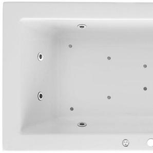 FOND Whirlpoolwanne »Cubic«, B/T/H in cm: 190/90/62,5; Whirlpool-System Premium