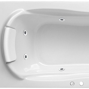 FOND Whirlpoolwanne »Komfort«, Breite/Tiefe in cm: 170-180/80, Whirlpool-System