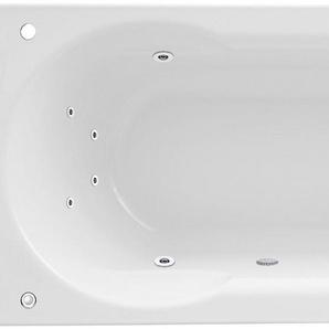 FOND Whirlpoolwanne »Julia«, Breite/Tiefe in cm: 170/75, Whirlpool-System 1