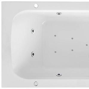 FOND Rechteckduschwanne »Malta, Whirlpoolsystem Premium«, Breite/Tiefe in cm: 170-180/75-80