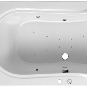 FOND Körperformwanne »Palma«, B/T/H in cm: 190/90/52, Whirlpool-System Premium