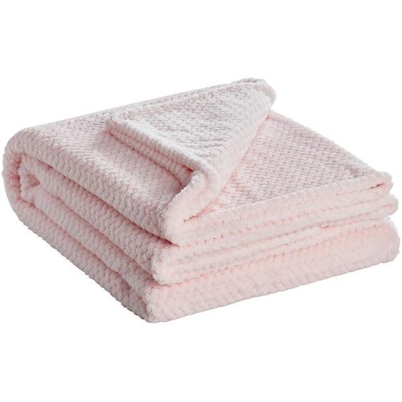 for friends Coralfleecedecke  Mia ¦ rosa/pink ¦ 100% Polyester