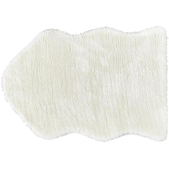 HOME STORY Fellimitat - weiß - Synthethische Fasern   Möbel Kraft