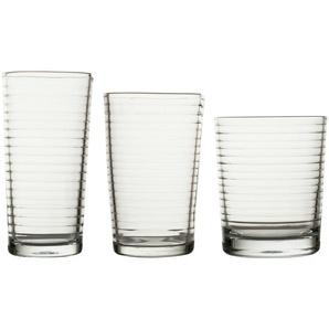 for friends Gläserset 18-teilig ¦ transparent/klar ¦ Glas Gläser & Karaffen  Trinkgläser » Höffner
