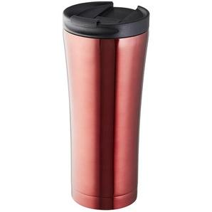 for friends Isolierbecher ¦ rot ¦ doppelwandiger Edelstahlkörper, Kunststoff, Silikon ¦ Maße (cm): H: 20 Ø: [8.3] Kaffee & Tee  Isolierbecher » Höffner