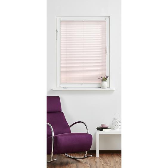 for friends Klemmfix-Plissee ¦ rosa/pink ¦ Polyester ¦ Maße (cm): B: 110