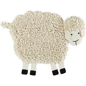Nepal-Teppich  Emma ¦ creme ¦ 100% nepalesische gewalkte Wolle, Wolle ¦ Maße (cm): B: 85 Teppiche  Kinderteppiche » Höffner