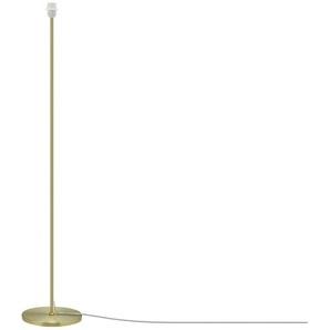 for friends Stehleuchte, 1-flammig, messing matt - gold - 131 cm   Möbel Kraft