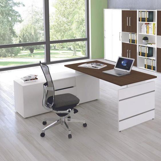 FORM 4 B�rom�bel Set, 1 Arbeitsplatz 500x300