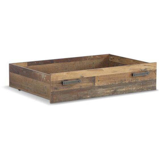 FORTE Bettkasten, Braun, Holz 85 cm